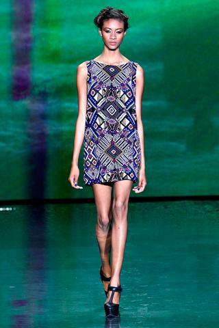 tribal fashion 2011 LAMB