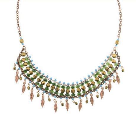 tribal bib necklace jewelry