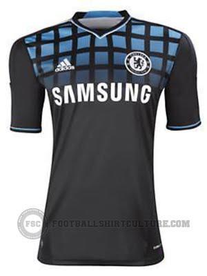 2011-12 Chelsea Away Kit