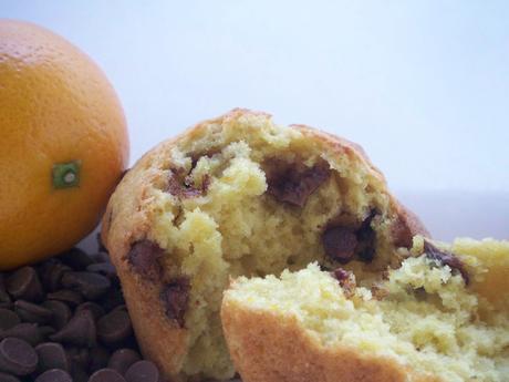 Sue's jaffa muffins