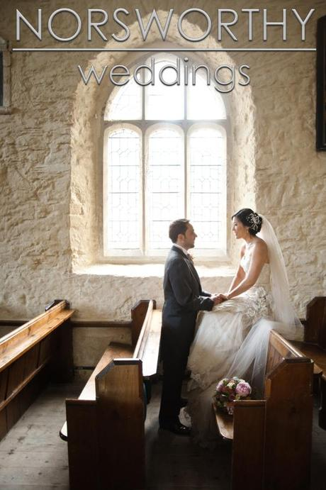 Dartmouth Castle Wedding on English Wedding blog