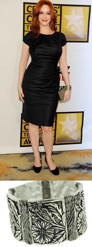 CH cuffFab Find Friday: Christina Hendricks as Herself