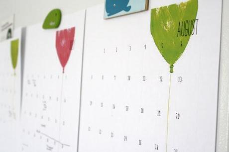celebrate summer ..free calendar printable
