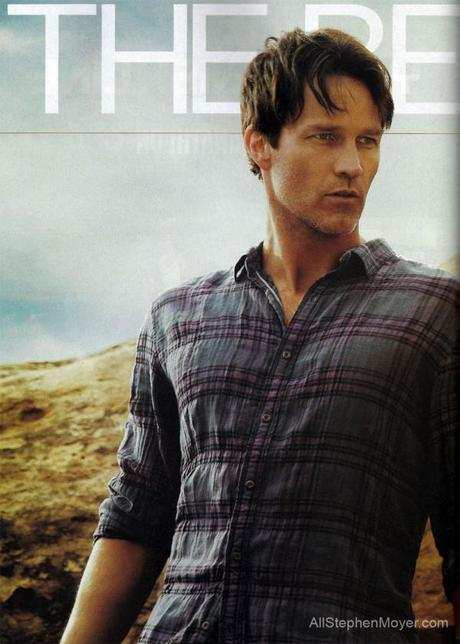 Scans of Stephen Moyer Article in Men's Health Magazine