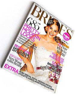 UK Brides magazine cover