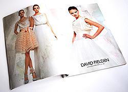 UK wedding magazine advertisement