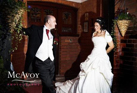 Mere Court wedding in March by McAvoy Photography