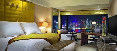 Room with a view: Intercontinental Hong Kong