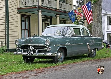 GUEST BLOGGER: Ken Briers on his 1952 Ford Customline Tudor sedan, still running.