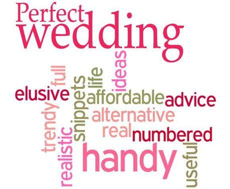 word cloud Perfect Weding Magazine review