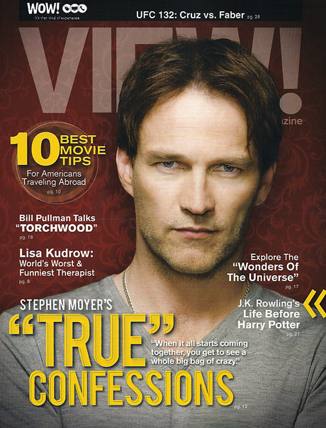 Stephen Moyer in View Magazine