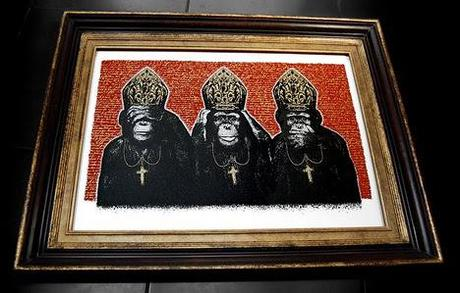 K-Guy — Primate Pontificate Print