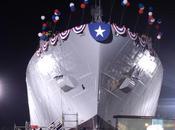 Christening Launch Navy Ship