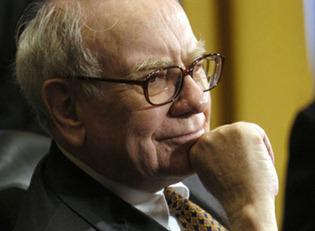 Image #: 3980104    Warren Buffett, chairman and chief executive officer of Berkshire Hathaway, listens during a hearing of the Senate Finance Committee on federal real estate taxes, in Washington, D.C., U.S., on Wednesday, Nov. 14, 2007. Buffett called on Congress to maintain the estate tax, saying that plans to repeal the levy would benefit a handful of the richest American families and widen U.S. income disparity. Photographer: Stephanie Kuykendal/Bloomberg News /Landov