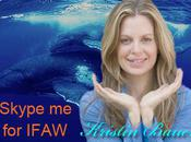 Kristin Bauer Works with Vault Favorite Charity IFAW