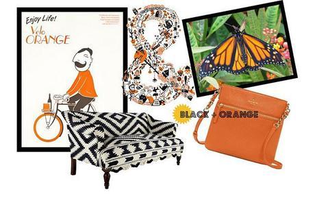 Black + Orange