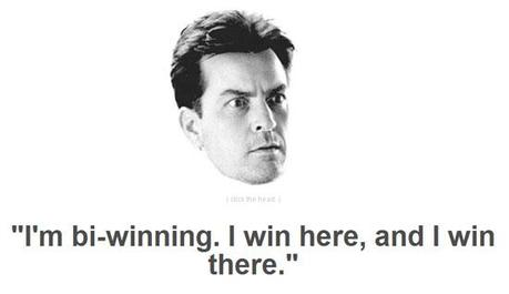 Winning Wednesday – Markets Make Sense to Charlie Sheen