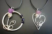 Aldona Juska Thistle Art and Jewellery