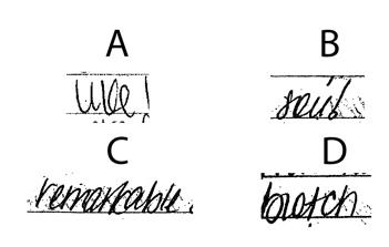 Guest Blogger: Handwriting Analyst Michelle Dresbold