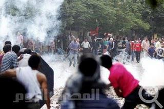 Violence in Tahrir Square in late June
