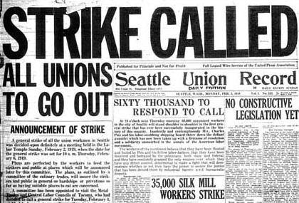 10 Most Momentous Strikes Of The 20th Century