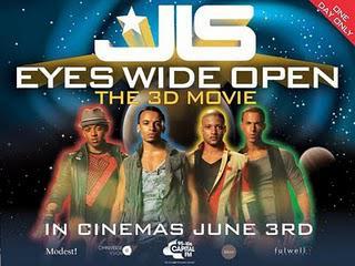 Embarrassingly reviewing JLS 3D - Eyes Wide Open