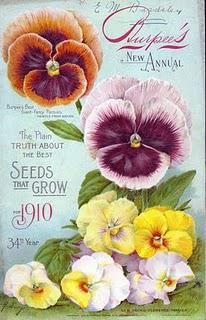 Vintage Seed Packet Images