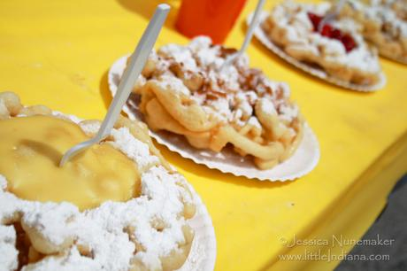 North Judson Mint Festival in North Judson, Indiana: Funnel Cake!