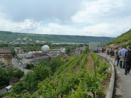 Wine walks are popular in Germany