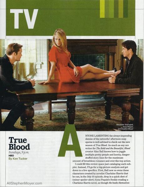 True Blood in Entertainment Weekly and People Magazine