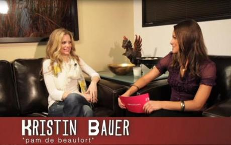 Kristin Bauer Shows Emotion that Pam Never Would