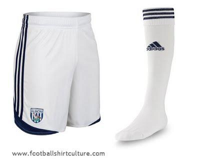 2011-12 West Brom Home and Away Kits released