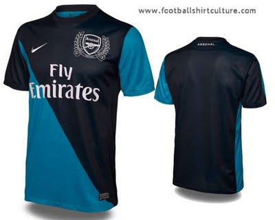 2011-12 Arsenal Away Kit Released