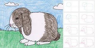 How to Draw a Floppy Ear Bunny