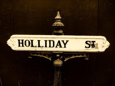 Street Signs – Holiday Time