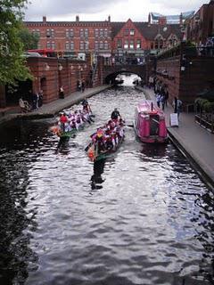 Brindleyplace Dragonboat Race, Birmingham