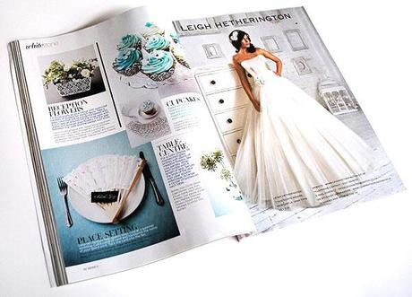 UK wedding magazine inside pages