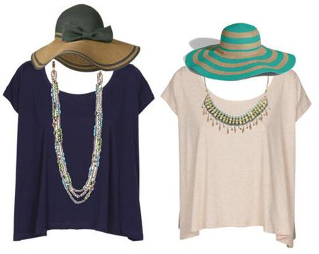 beach hats and turquoiseFab Find Friday: Beachy Fashion