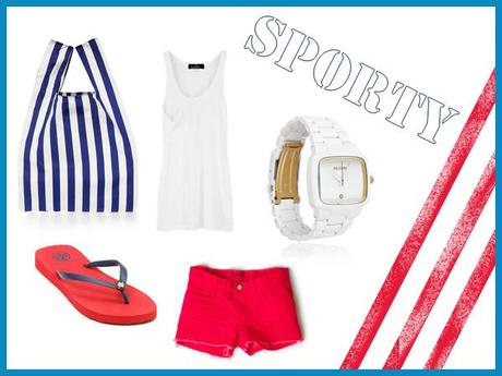 Fourth of July style: sporty