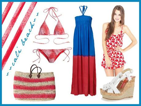 Fourth of July style: cali beach