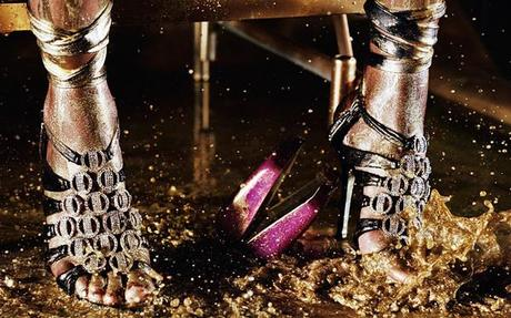 Jimmy Choo Crystal Anniversary by Marilyn Minter