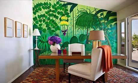 mdesign office jungle wall