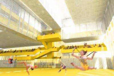 On the Boards: National Gymnastics Centre Pegan Petkovšek