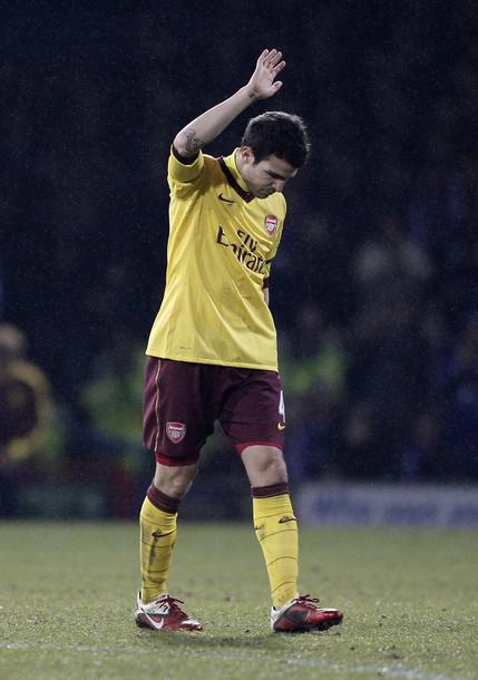 Arsenal's Spanish player Cesc Fabregas