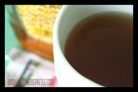 Wordless Wednesday – Tulsi Tea and Honey