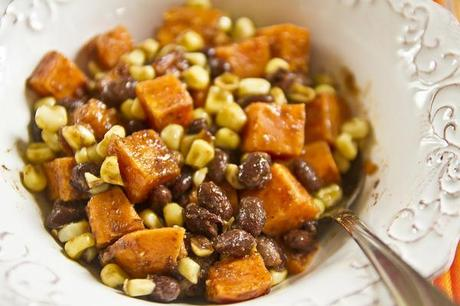 Sweet Potato, Corn, & Black Bean Hash - Paperblog