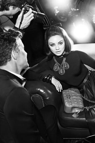 mkunis dior v 30jul12 pr b 426x6391 333x500 From Meg Griffin to Miss Dior, Mila Kunis back again for a second season with Dior.