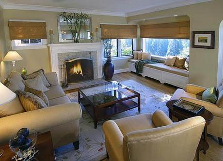 kathy simpson living Fall Color ~ Designing with Brown HomeSpirations