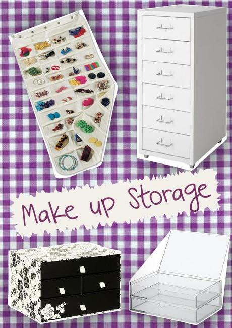 Mood Board #8 Makeup Storage