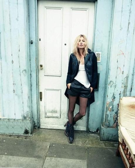 KATE MOSS // Autumn in London